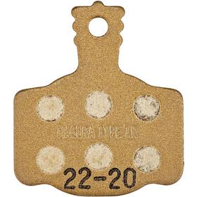 Magura 7.R Race Disc Brake Pads for 2-Piston MT Disc Brake 20 Sets, Dorado